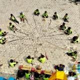 Peringati Hari Anti Korupsi, Mak Lampir Korupsi Dicambuk 19 Cemeti Amar Rasuli