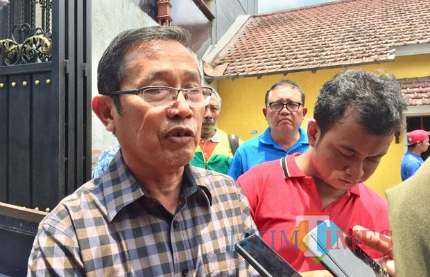 Machfud Ketua KONI Kota Batu periode 2018-2022. (Foto: Irsya Richa/MalangTIMES)