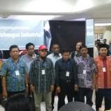 Para perwakilan serikat pekerja yang melakukan deklarasi pemilu damai (Anggara Sudiongko/MalangTIMES)