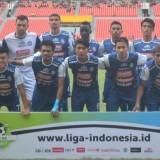 Pemain Arema FC foto tim sebelum menjalani pertandingan (instagram @aremafcofficial)