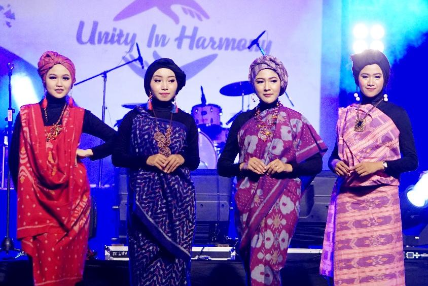 Fashion show dalam acara Expo KIM. (Foto: Ist)