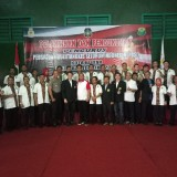 Pengurus PBSI Kota Blitar bersam PBSI Jatim, KONI Kota Blitar dan Forkopimda Kota Blitar
