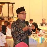 Wali Kota Malang Sutiaji saat memberikan paparan dalam agenda penyusunan RPJMD Kota Malang. (Foto: Dokumen MalangTIMES)