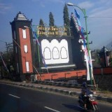 Tanda batas wilayah Lawang yang rencanya akan dibuatkan gapura dengan desain ikonik Kabupaten Malang (Ist)