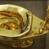 Toilet berlapis emas (Daftar5)