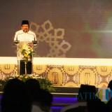 Dr.H.Soekarwo Gubernur Jatim Berikan Sambutan  Pada Acara ISEF Shari