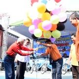 Walikota Kediri Buka acara dies Natalis dan Resmikan gedung baru. (ist)