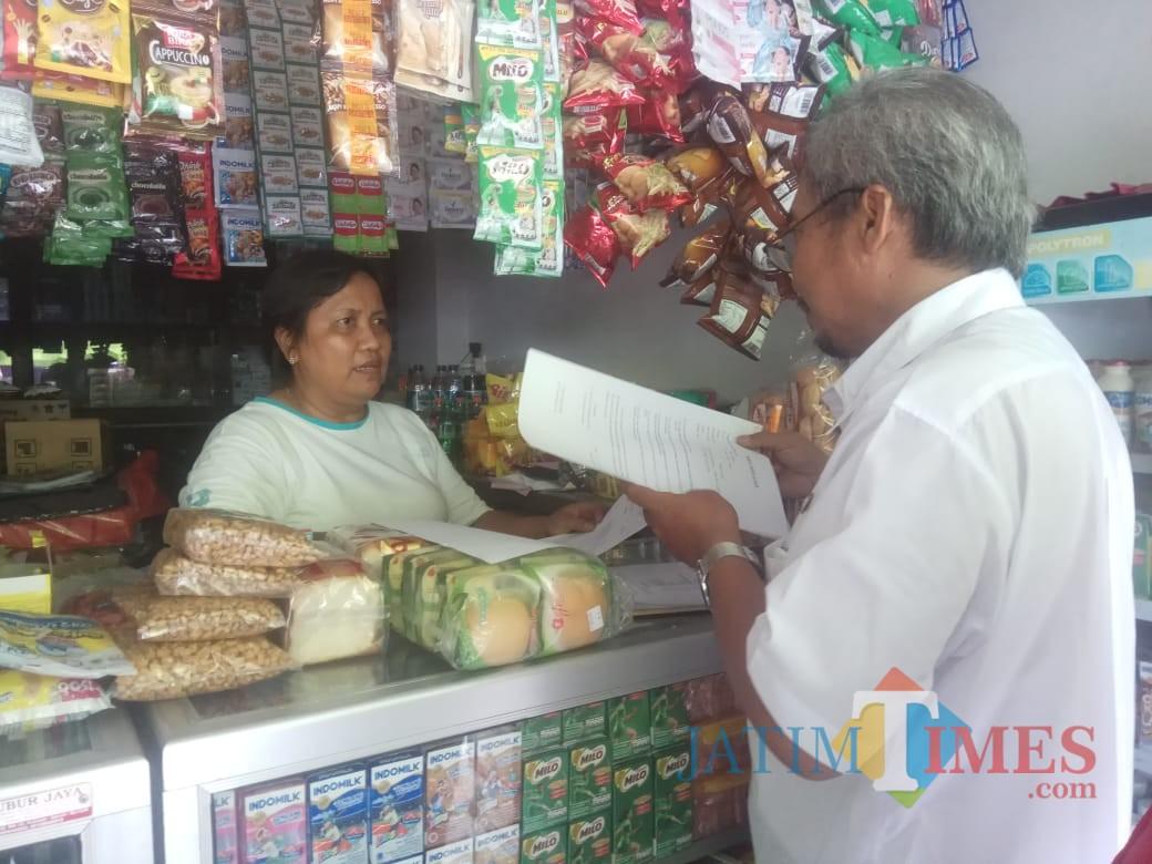 Sidak mamin yang digelar Dinkes Pemkab Blitar.(Foto : Team BlitarTIMES)