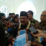 Gubernur Jawa Timur Soekarwo (foto: Imarotul Izzah/Malang Times)