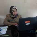 Wita Tri Wardani, Kabid Pasar Disperindag Pemkab Blitar.(Foto : Aunur Rofiq/BlitarTIMES)