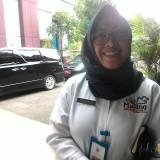 Masuk di peringkat ke-4 se-Jatim dalam penyelesaian rekom BPK, Inspektur Pemkab Malang Tridiyah Maestuti terus dorong ketepatan anggaran OPD. (Nana)