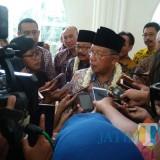 Menteri Koordinator Bidang Perekonomian Darmin Nasution (foto: Imarotul Izzah/MalangTIMES)