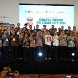 50 Perwakilan daerah yang meraih penghargaan smart city dari Menkominfo salah satunya Kabupaten Jember