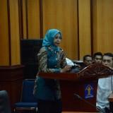 Bupati Jember dr. Hj. Faida MMR saat menghadiri sidang perdana di Kementerian Hukum dan HAM
