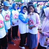 Gubernur JawaTimur Membuka Kampanye Gerakan Pencegahan Stunting Di Jawa Timur