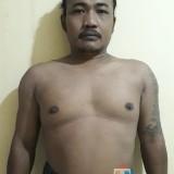 Hendro Mawan Suryo. tersangka kasus pemcurian dengan tindak kekerasan saat diamankan polisi.(Foto : Humas Polres Malang for MalangTIMES)