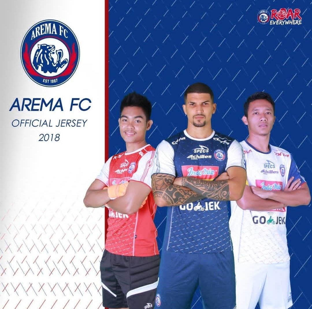 Jersey Arema FC musim 2018 (official Arema FC)