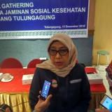 Indrina Darmayanti kepala BPJS Cabang Tulungagung / Foto : Anang Basso / Tulungagung TIMES