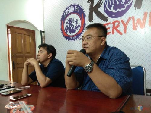 General Manager Arema FC, Ruddy Widodo saat ditemui di Kandang Singa (Hendra Saputra)
