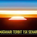 Matahari terbit 15 kali di luarangkasa (YtCrash)