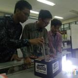 Tim pembuat CAPTION (foto: Imarotul Izzah/Malang Times)