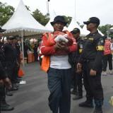 Pesta Cak Koen yang digelar Pemkot Surabaya.