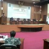 Wabup Malang HM Sanusi diwakili oleh Kadisparbud Kabupaten Malang Made Arya Wedanthara saat membacakan sambutan sekaligus membuka acara Lokasabha IX (Nana)