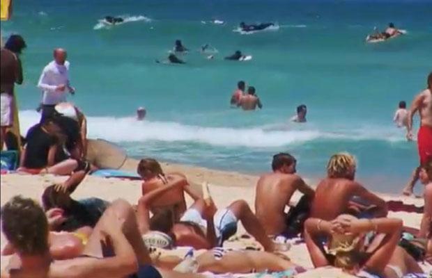 Pantai Obelisk di Sydney. (Sumber: youtube)