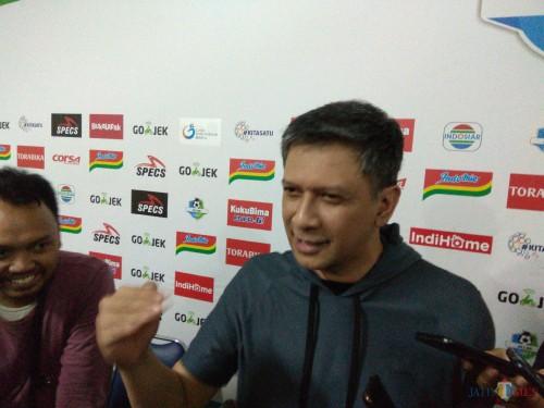 CEO Arema FC Iwan Budianto (Hendra Saputra)