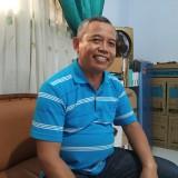 Kepala SMPN 1 Boyolangu,  Mujo Wasono (foto:  Joko Pramono/Jatimtimes)
