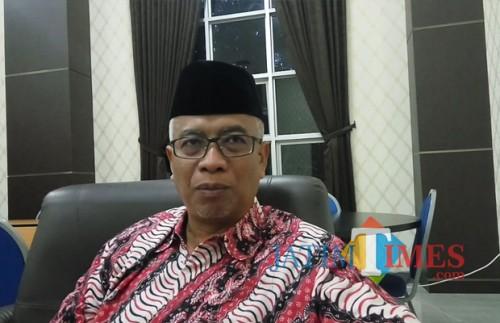 Ketua PCNU Kota Malang, KH Isroqun Najah atau akrab disapa Gus Is (Foto: Anggara Sudiongko/ MalangTIMES)