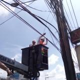 Tanpa Ampun Wali Kota Malang Potong Bersih Kabel Semrawut