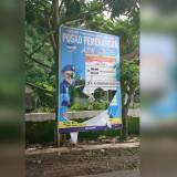 Baliho kampanye Calon DPR RI nomor urut dua dari Partai Demokrat, daerah pilihan Malang Raya, Ir. H. Ghufron Marzuki yang diduga dirusak oknum tak bertanggung jawab (Istimewa)