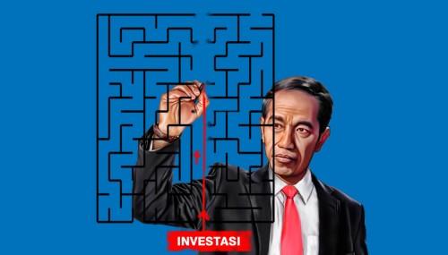 Ilustrasi Presiden Jokowi dalam menertibkan pelayanan perizinan melalui OSS terhadap data KBLI perseroan terbatas (PT) sebelum 2017. (Ist)