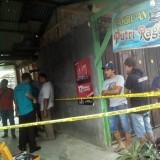 Polisi saat lakukan olah TKP di Pasar Burung Bendilwungu beberapa waktu lalu / Foto : Istimewa / Tulungagung TIMES