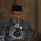 Roy Amran, Wakil Ketua DPRD saat membacakan rekomendasi DPRD terhadap LKPJ Wali Kota Probolinggo (Agus Salam/ JatimTIMES)