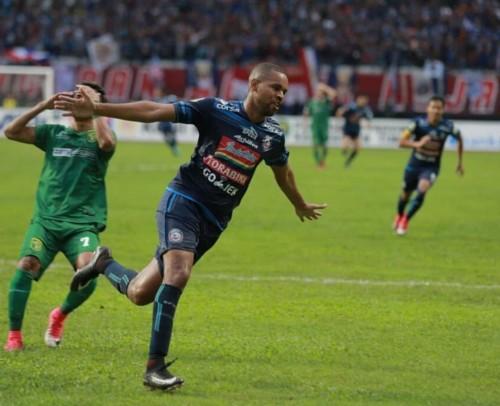 Striker asing terakhir Arema FC di kompetisi Liga 1 musim 2018, Thiago Furtuoso (instagram)