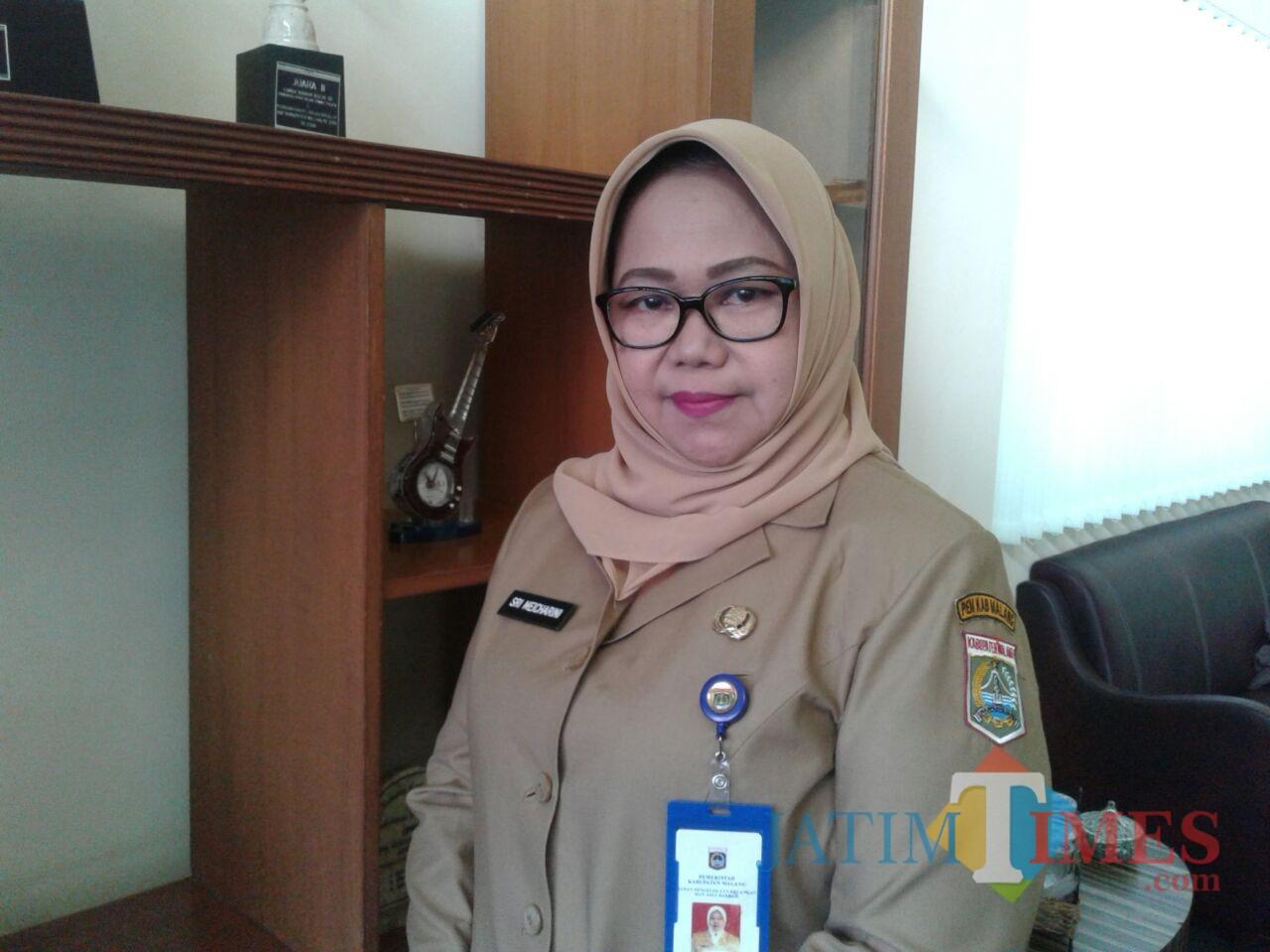 Sri Meicharini Kepala Dispendukcapil Kabupaten Malang (Nana)