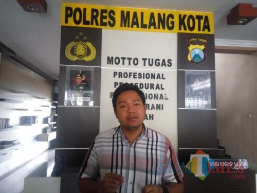 Kasat Reskrim Polres Malang Kota AKP Komang Yogi (Hendra Saputra)
