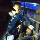 Nur Cholis ditemukan meninggal di dalam bus (Agus Salam/Jatim TIMES)