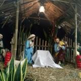 Dekorasi Natal Gereja Kayutangan (foto: Imarotul Izzah/Malang Times)