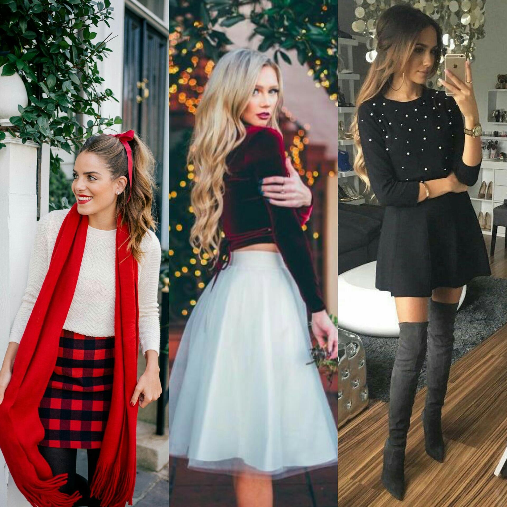 Inspirasi outfit natal (foto: Pinterest)