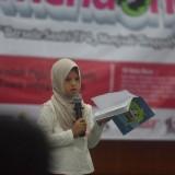 Rumah Zakat hadirkan santri TPQ dalam agenda Silaturahim Akbar Santri se-Nusantara ke-VI dalam gelaran acara Indonesia Mendongeng, Selasa (25/12). (Foto: Ist)
