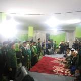 Para caleg yang bersumpah di hadapan dan disaksikan para kiai di Pondok Sabilur Rosyad. (25/12/2018)(Anggara Sudiongko/MalangTIMES)