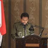 Imam Hanapi  wakil ketua Pansus III DPRD Kota Probolinggo tengah membacakan laporannya (Agus Salam/Jatim TIMES)