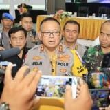 Kapolda Jatim Irjen Pol Luki Hermawan saat memberikan keterangan pers