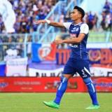 Bagas Adi Nugroho saat masih mengenakan jersey Arema FC. (instagram)