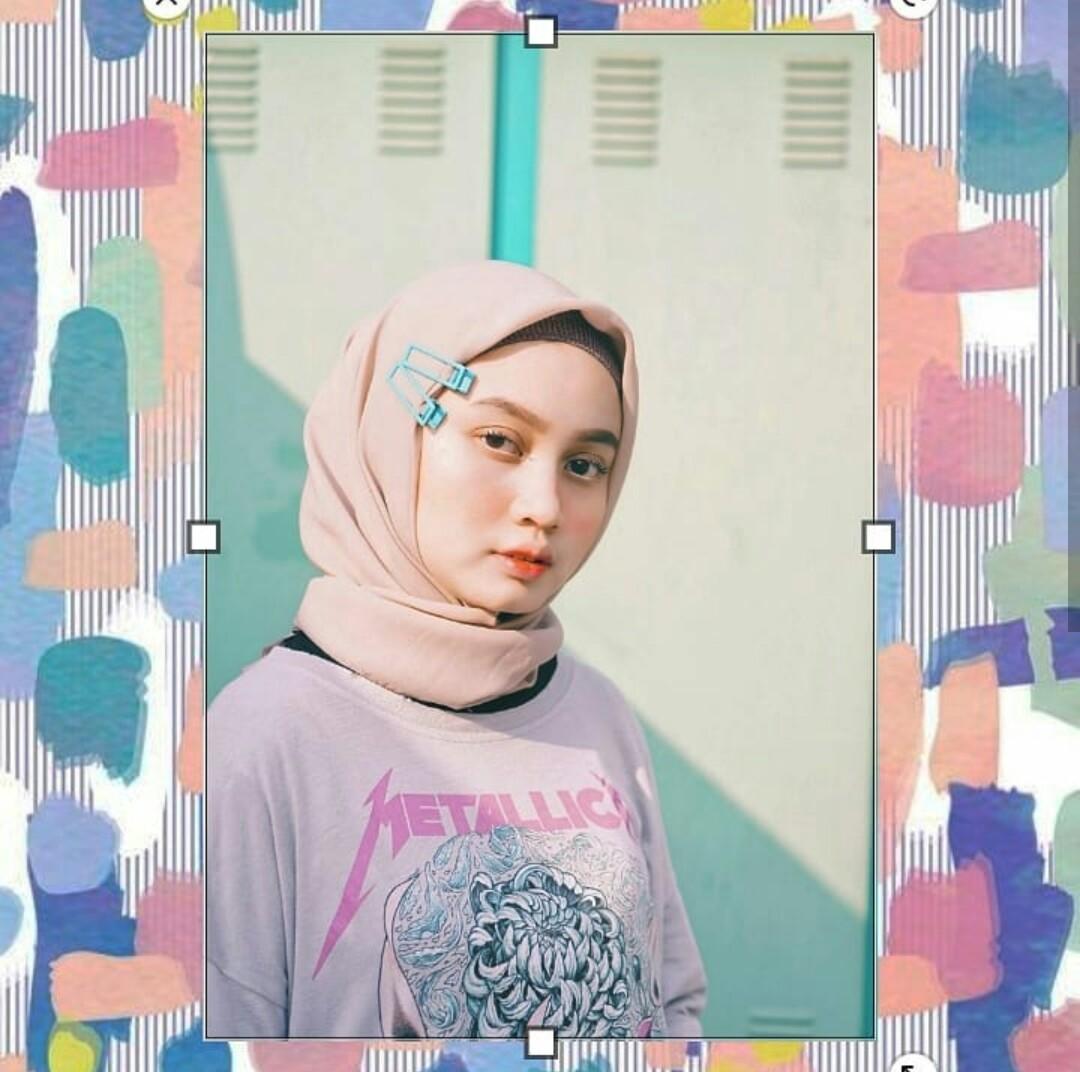 Hijab Dengan Jepit Rambut