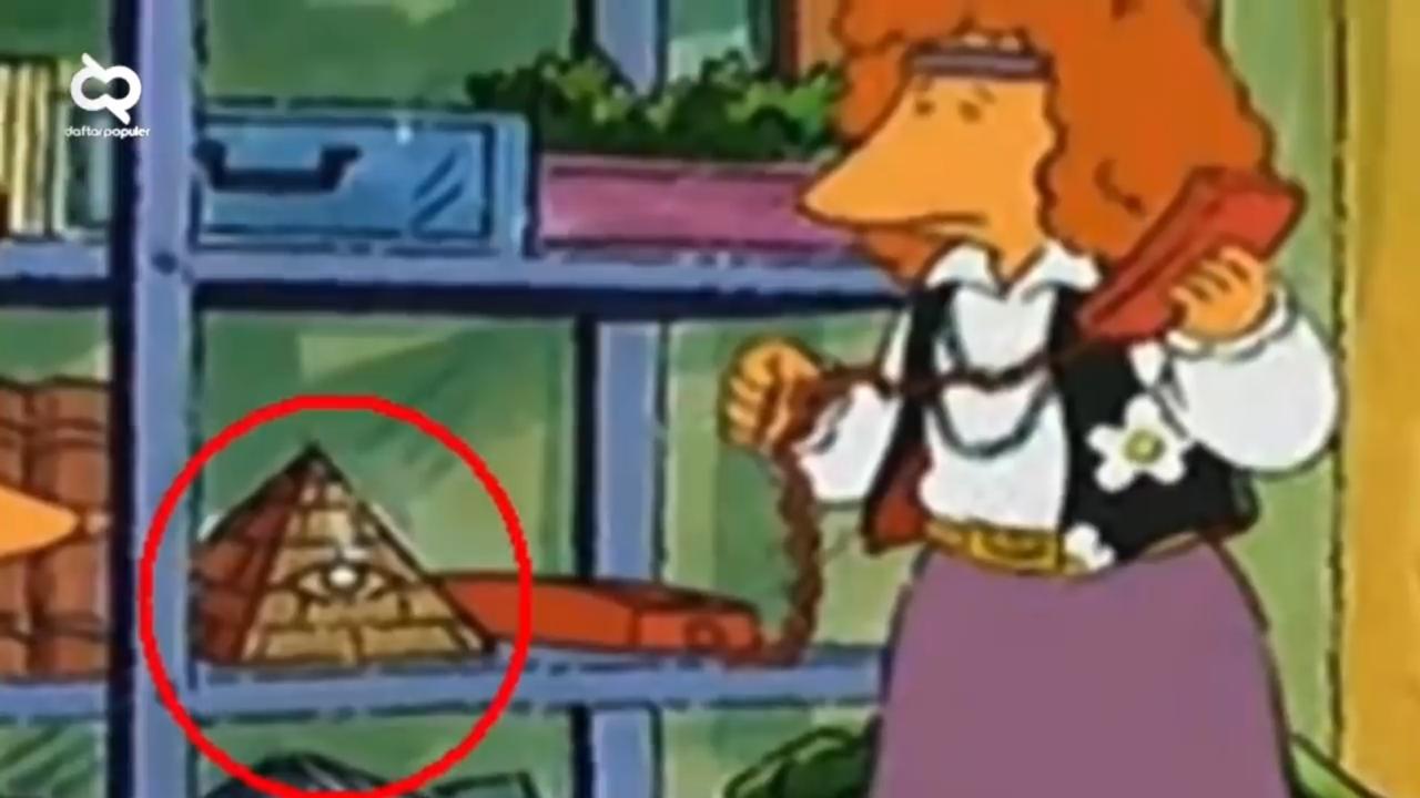 10 Serial Kartun Yang Dicurigai Menyebar Simbol Illuminati