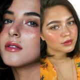 Beauty influencer Tasya Farasya dan Sarah Ayu (foto istimewa)